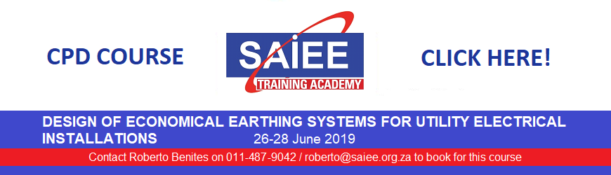 c SAIEE Training Academy - Economical Earthing Systems