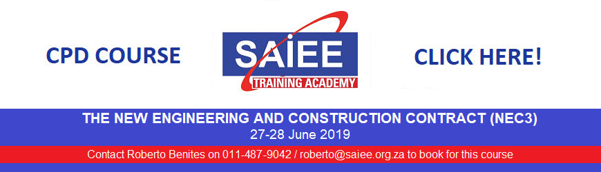 d SAIEE Training Academy - New Engineering Contract