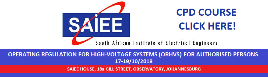 Saiee The South African Institute Of Electrical Engineers